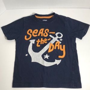 Gymboree 3T Seas-The Day Boys T-Shirt